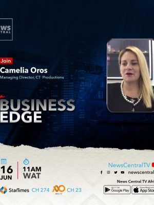 CT Productions Managing Director Camelia Oros on News Central TV - Business Edge, June 16 2021